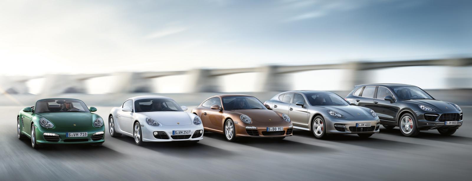 Porsche Gebrauchtwagen-Anschluß und Individual-Garantie